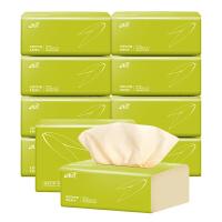 缘点本色抽纸10包*240张4层加厚 家用婴儿面巾纸卫生纸餐巾纸