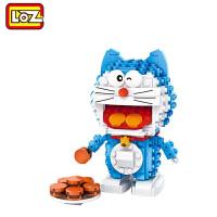 【当当自营】LOZ俐智mini颗粒积木哆啦A梦系列创意拼装玩具 原型版哆啦A梦1710