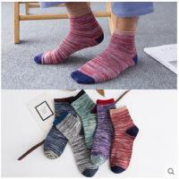 袜子男士中筒袜棉袜短袜四季防臭运动篮球袜潮流长筒袜秋冬款