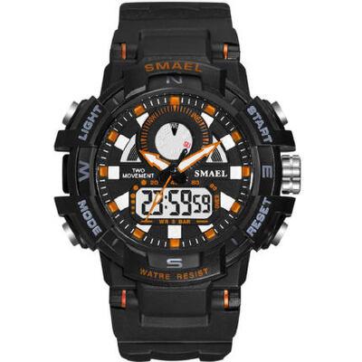 电子表男男士成人机械多功能运动防水户外学生手表