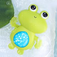 """����洗澡玩具�和��蛩�小青蛙��恒逶""""l�l游泳玩具���l光星空投影"""