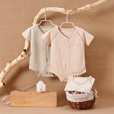 天然彩棉婴儿连体衣服宝宝新生儿25哈衣春01岁3个月新年 发货周期:一般在付款后2-90天左右发货,具体发货时间请以与客服协商的时间为准