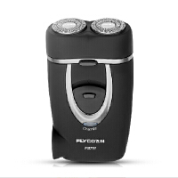 【正品包邮】飞科(FLYCO) FS711 两刀头 旋转式剃须刀 内置充电插头