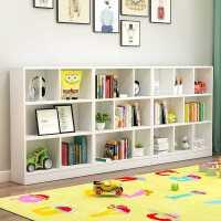 【满减优惠】儿童书架儿落地小书架简约现代简易置物架幼儿园白玩具架儿童书柜