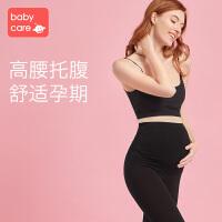 babycare孕妇裤春夏薄款 外穿九分打底裤托腹裤时尚产后新款运动