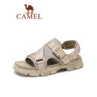 camel骆驼男鞋2019夏季新款凉鞋男运动青年潮流休闲百搭透气韩版沙滩鞋