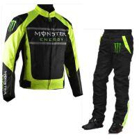鬼爪赛车服套装 川崎骑行服 MONSTER摩托车上衣+裤子