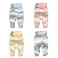 婴儿裤子春款3个月新生儿6宝宝春季款休闲高腰打底裤1岁