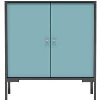 北欧创意鞋柜 现代简约小户型门厅柜大容量对开门客厅储物柜 对开门鞋柜 组装