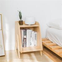 【满减优惠】北欧床头柜简约现代卧室实木收纳柜小型储物柜儿童玩具床边小柜子