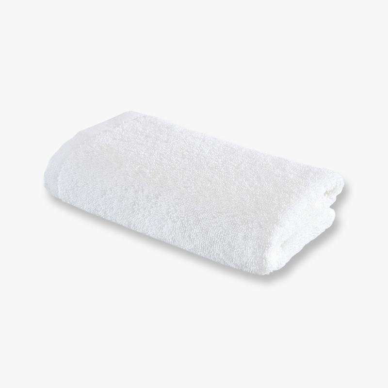 当当优品 酒店系列全棉面巾 印度长绒棉毛巾 33x75 王子白当当自营 印度长绒棉 柔软厚实