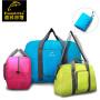 渔民部落 户外男女便携手提旅行包可收纳行李包防水耐磨