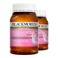 保税区发货/澳洲直邮 Blackmores澳佳宝 孕妇黄金营养素 180粒*2瓶 海外购