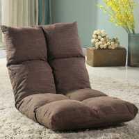 【满减优惠】懒人沙发榻榻米可折叠单人小沙发床上电脑椅宿舍飘窗日式靠背椅
