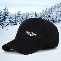新款男士秋冬季户外护耳保暖棒球帽韩版时尚灯芯绒鸭舌帽