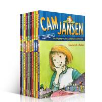 英文原版进口 初级章节书 cam Jansen 侦探故事 1-10部套装 儿童读物 桥梁书 小说
