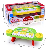 电子琴婴幼儿益智 儿童早教音乐琴 卡通乐器电动小钢琴