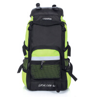 户外登山包徒步野营双肩包旅行行李包45L升运动度假背包