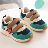 秋儿童运动鞋女童跑步鞋男童旅游鞋网布透气机能鞋