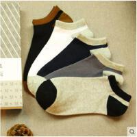 低帮春秋夏季棉袜四季浅口隐形运动袜子男士短袜低腰船袜纯色