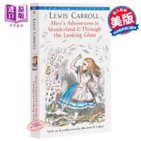 【中商原版】英文原版经典 Alice's Adventures in Wonderland 爱丽丝梦游仙境与镜中奇遇记