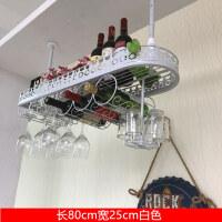 欧式吧台高脚红酒杯架倒挂创意家用酒瓶架摆件葡萄红酒架悬挂简约