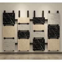 陶瓷架子冲孔立柱展示架瓷砖展架多功能样品墙砖石材地砖木地板