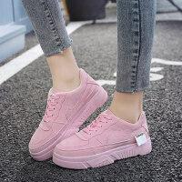 新款樱花粉小白鞋空军一号休闲鞋女士板鞋运动鞋女鞋