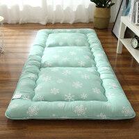加厚榻榻米床垫床褥单人学生宿舍0.9m床垫褥子1.2m米折叠 180x200cm【家用款 5层结构 约8cm加厚