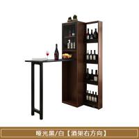 家用吧台桌简约现代可伸缩酒柜组合隔断柜酒吧柜客厅间厅柜玄关柜 组装 框架结构