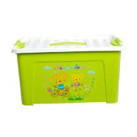 大�多用途手提收�{整理箱收�{盒子�和�玩具百�{�ξ锵浯筇�收�{盒 化�y箱 美容工具箱 �G色