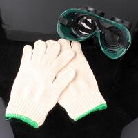 全棉线手套 电焊劳保防护用品 手部工作 耐磨加厚 纱线