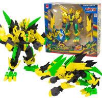 斗龙战士5 爆射龙弹 龙蛋枪 斗龙号角 手环变形机器人套装儿童变形玩具