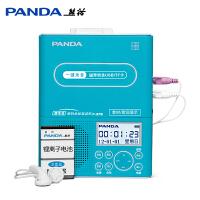 熊猫F-376磁带播放机复读机录音机u盘mp3插卡学习机英语复读机随身听中英文同步显示可充电复读机
