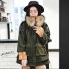 羊毛大衣女中长款韩版2018新款秋冬装季潮学生斗篷厚毛呢外套反季