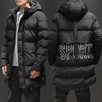 冬季男士中长款棉衣加大码加厚保暖棉服韩版修身男装冬装外套大衣