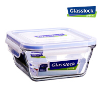 GlassLock/三光云彩 乐扣玻璃保鲜盒 密封便当盒保鲜盒MCSW 090/RP557W 900ml