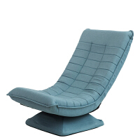 X3款月亮椅 布艺休闲懒人沙发可折叠旋转小户型创意卧儿童沙发椅