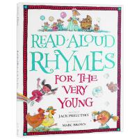 英文原版 学前儿童英语诗歌朗诵韵文 Read-Aloud Rhymes for the Very Young 美国共同核