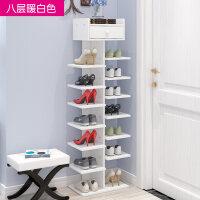 多层鞋架简易家用经济型省空间家里人仿实木鞋柜宿舍门口小鞋架子