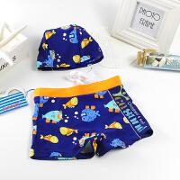 儿童泳裤男童小宝宝1-3岁平角2婴儿3-4小童5-6岁中大童游泳裤 Q