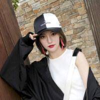 ins男街头潮人棒球帽 户外女士遮阳帽防晒帽子 韩版百搭学生棒球帽女鸭舌帽
