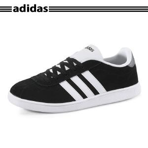 Adidas/阿迪达斯NEO黑色反绒休闲运动板鞋F99137