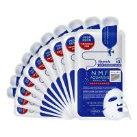 【海外购】韩国美迪惠尔3倍(原可莱丝) NMF针剂水库面膜10片装 补水保湿 滋润