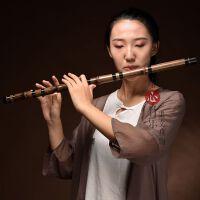 笛子乐器横笛G调F调梆笛曲笛专业精制紫竹笛一节笛初学