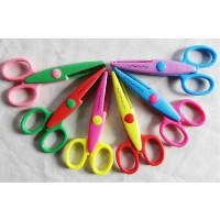 6005儿童安全剪刀 工DIY相册花边剪刀手工剪刀 剪纸剪刀 6款花型