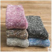 袜子女冬纯棉中筒棉袜冬天加绒加厚保暖复古毛巾女士毛圈袜秋冬款