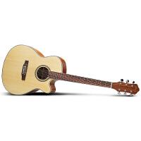 思雅晨吉他民谣吉他41寸木吉它初学新手入门jita乐器经典桶形妮特丽 标配