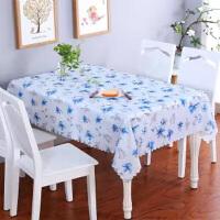 桌布防水防烫防油少女心桌垫ins茶几桌布日韩茶几餐桌垫免洗四季