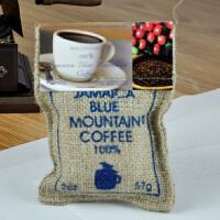 原装进口Wallenford蓝山牙买加蓝山咖啡豆57g 麻袋装